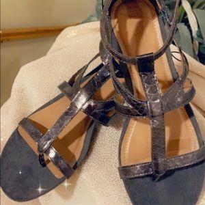 Brand new, never worn women's gladiator sandals